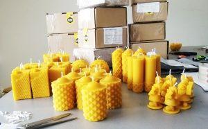 Пратки със свещи от пчелен восък